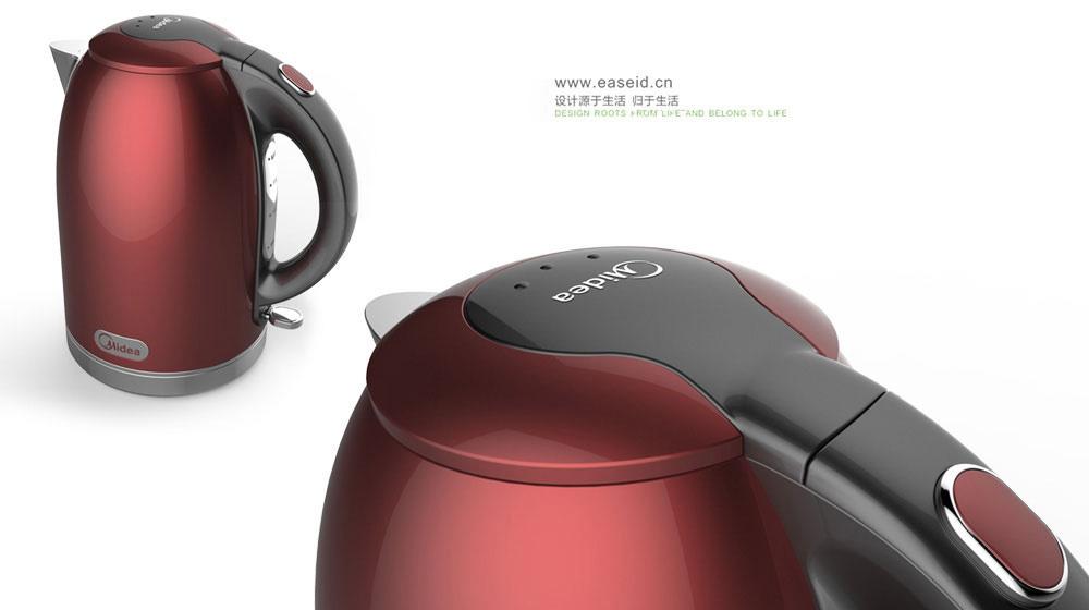 美的不锈钢电热水壶