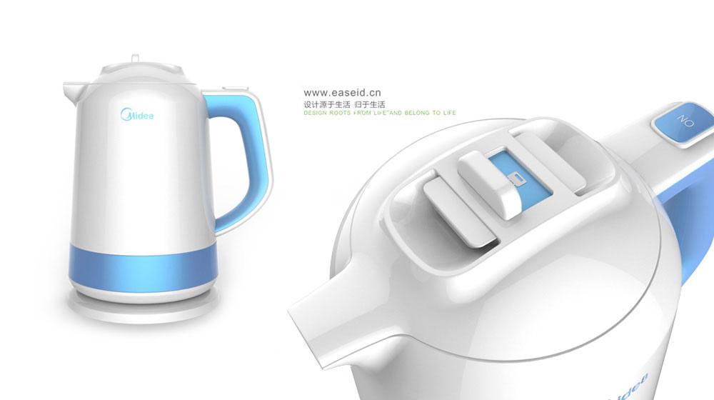 美的双层电热水壶